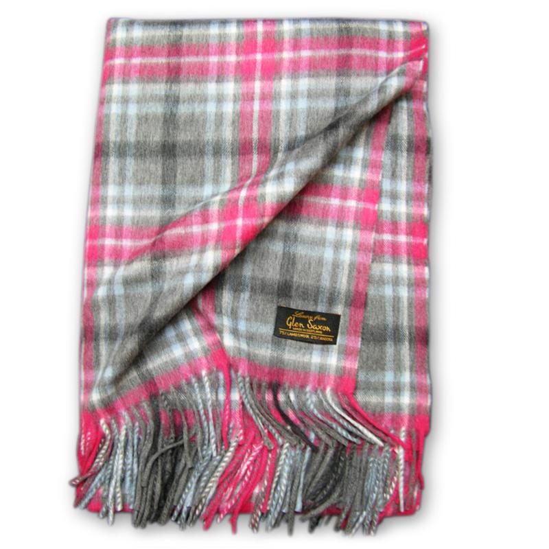 Шотландский шарф своими руками 507