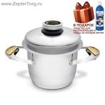 Кастрюля Цептер, объем 2,5 л, диаметр дна 16 см, высота 12,5 см. Новая линия посуды Zepter Z-Line. Количество ограничено!