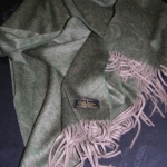 Плед Luxury Cashmere Paisley Olive